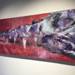 """""""Animal series"""" Tecnica: Olio su tela Dimensione: 150 x 60 cm"""