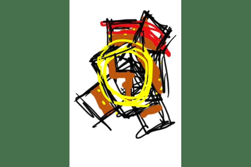 """Blaze"" Tecnica: Stampa Digitale Dimensioni: 34,5 x 29 cm"