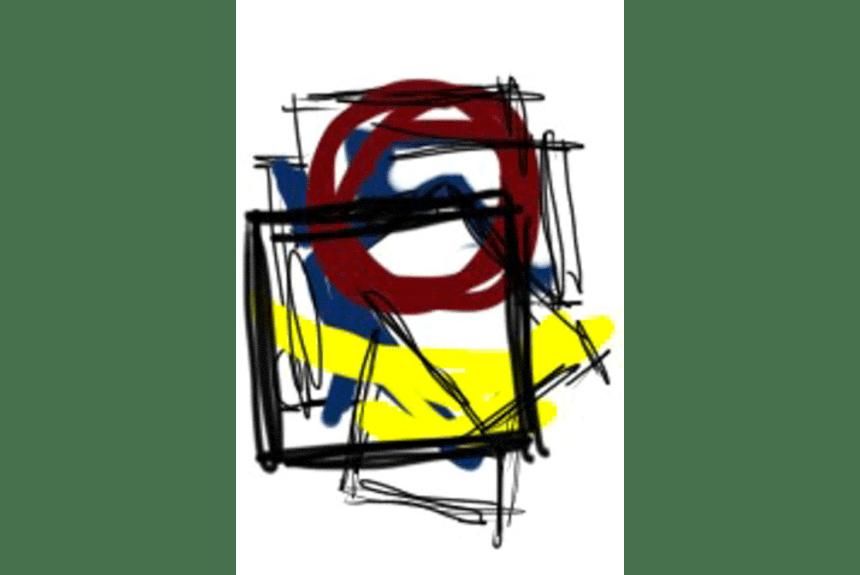 """Flash dimensioni"" Tecnica: Stampa Digitale Dimensioni: 34,5 x 29 cm"
