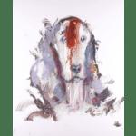 """N°16 Animal series"" Tecnica: Olio su tela Dimensione: 120 x 150 cm"