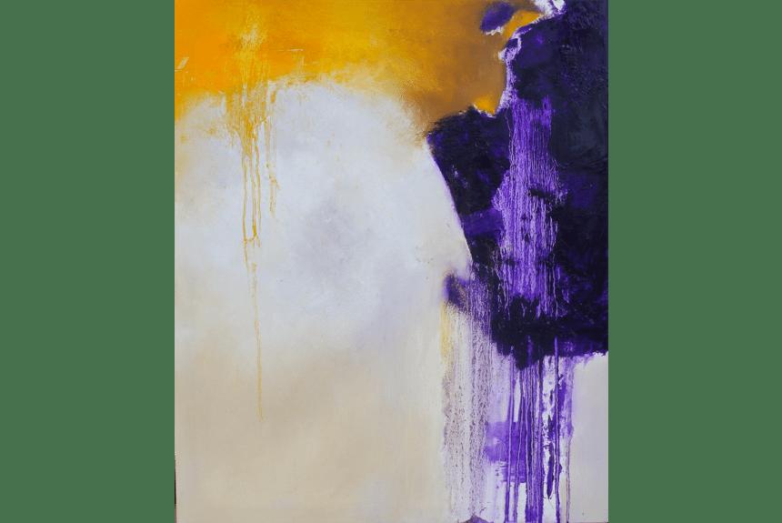 """Aiyanna"" Dimensioni: 100 x 80 cm Tecnica: Olio su tela"