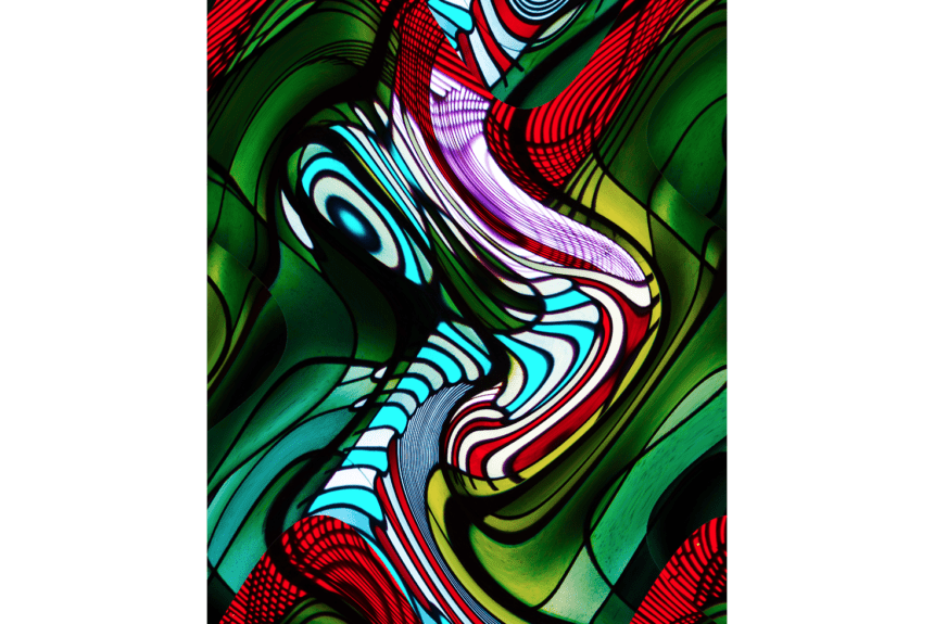 """""""Decending"""" technique: digital print on alluminium and Acrylic Dimensions: 76,2 x 91,44 cm"""
